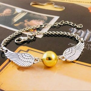 Inspired Harry Potter Golden Snitch Bracelet